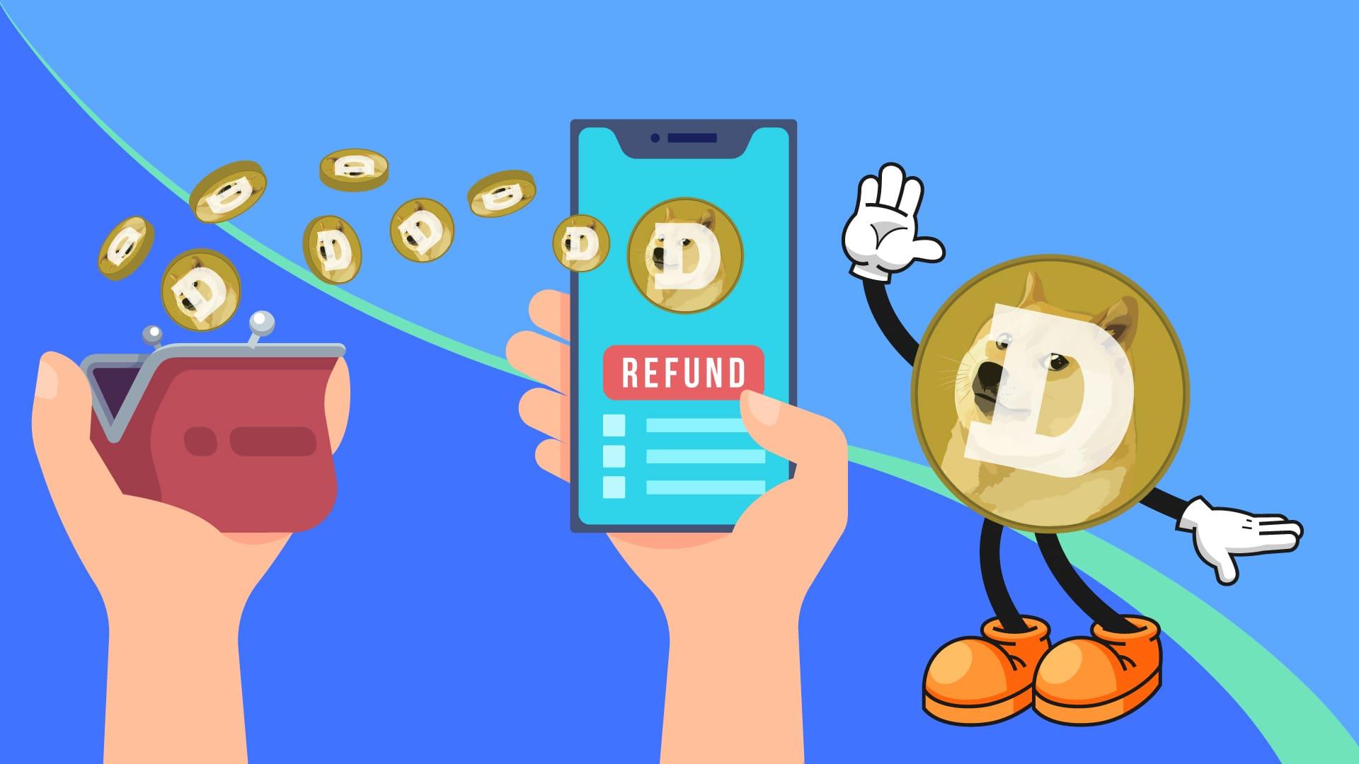 Get Refund in Dogecoin