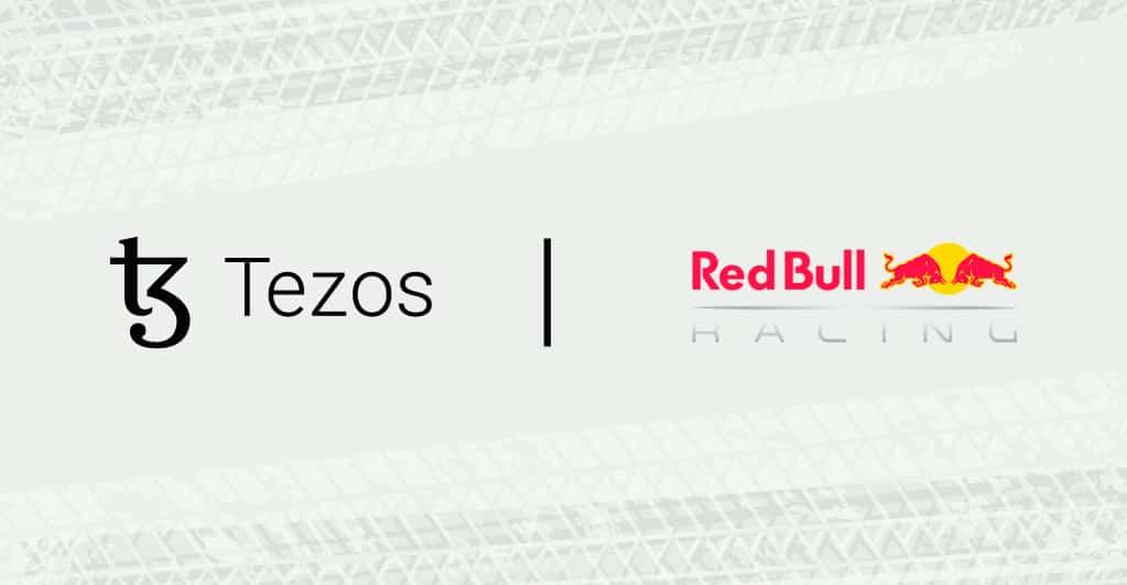 Tezos & Red Bull Racing Honda Sign Blockchain Merger